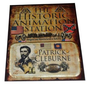 General Patrick Cleburne Historical Patch